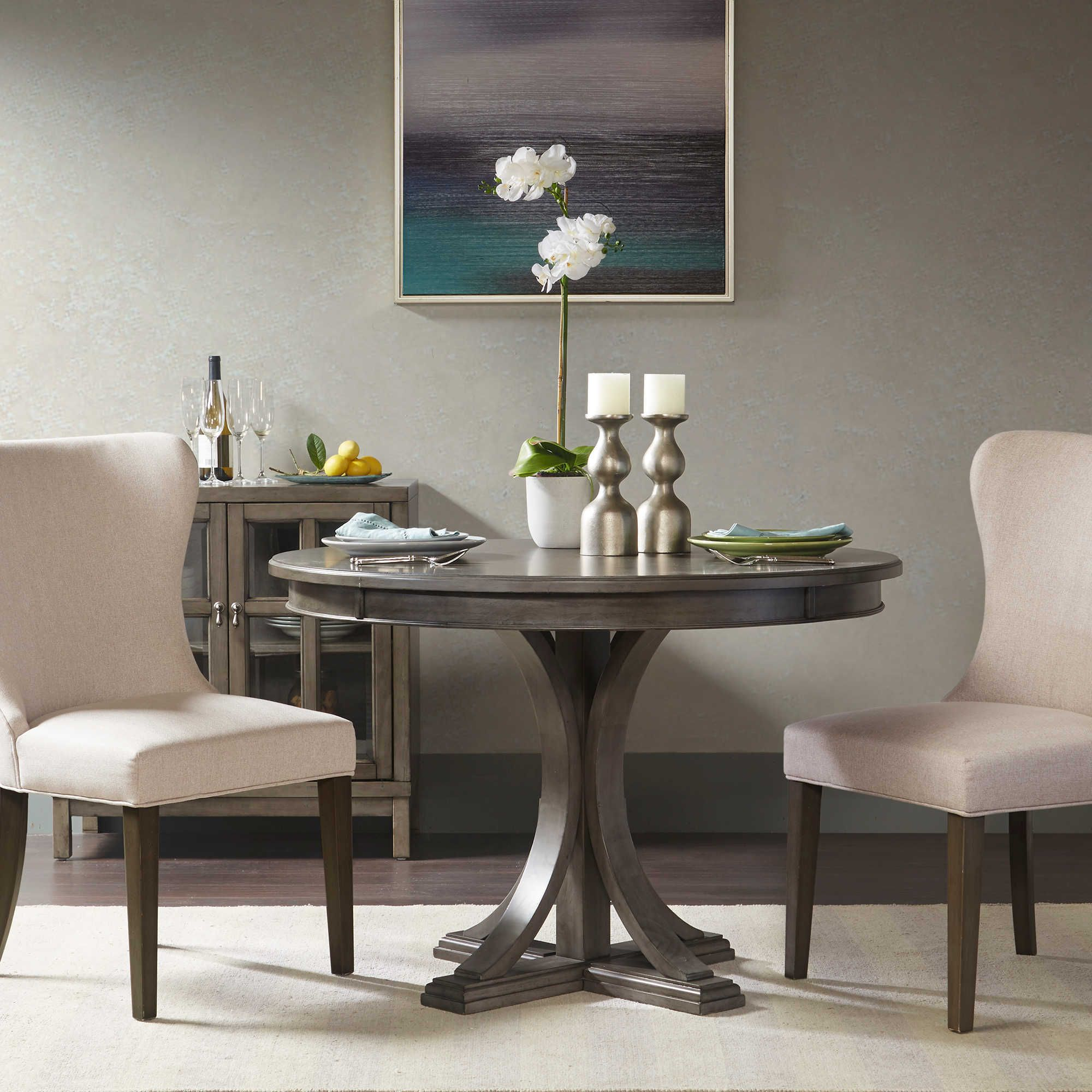 madison park signature helena round dining table sunroom porch rh pinterest com