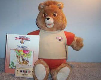 Teddy Ruxpin  My grandma may still have this toy.  : )