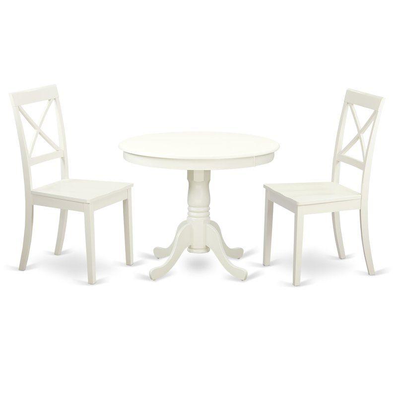 east west 3 piece dining set reviews wayfair patio furniture rh pinterest com