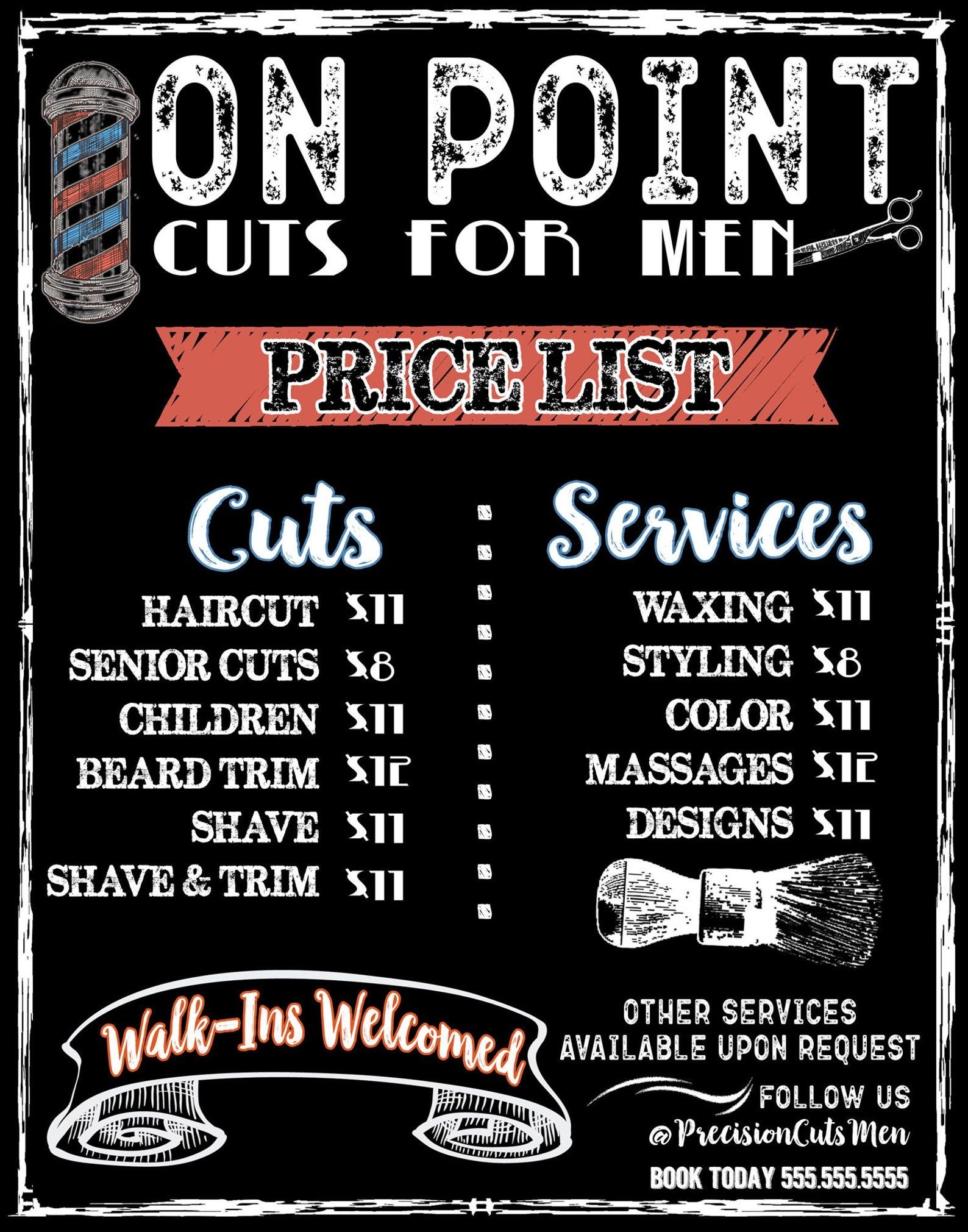 40+ Haircut and beard trim price ideas