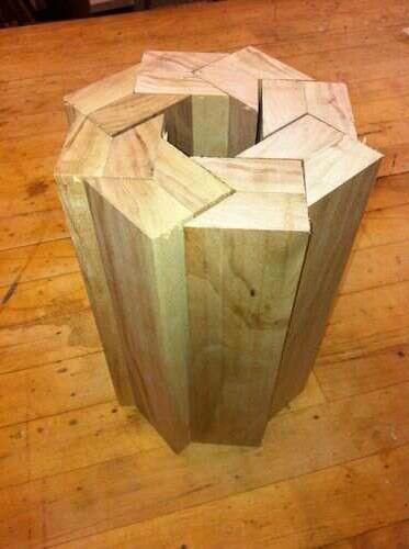 Diy Table Base Idea Put Glass On Top For A Lamp Table Progetti Per La Lavorazione Del Legno Idee Legno Gioielli Di Legno