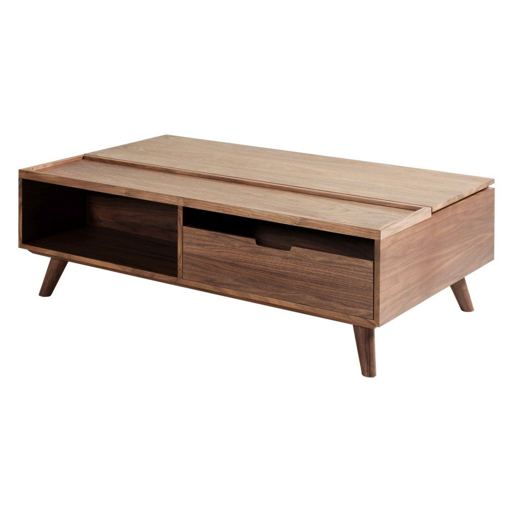 New Pacific Direct Inc Pascal Lift Top Rectangle Coffee Table F4 Coffee Table Rectangle Walnut Coffee Table Cool Coffee Tables [ 1000 x 1000 Pixel ]