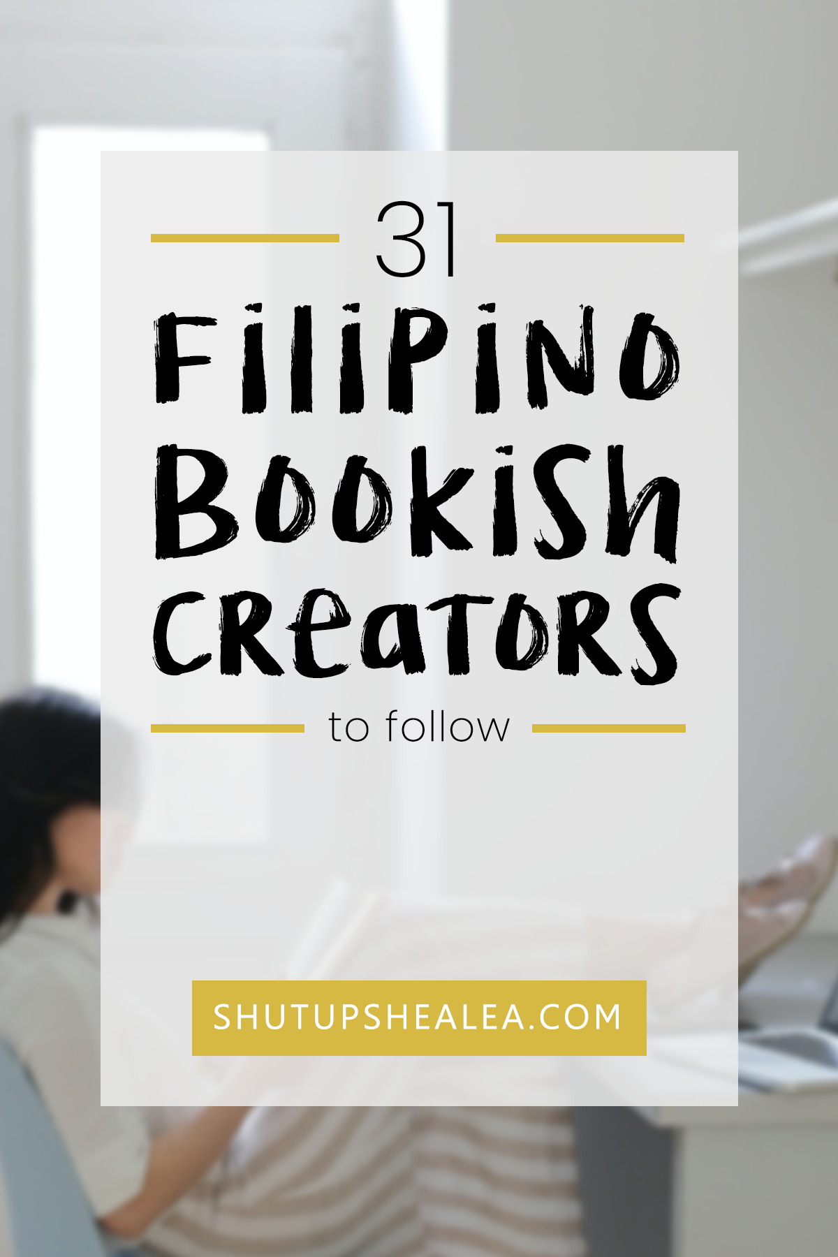 Fill your feed with diverse content from Filipino book bloggers, bookstagrammers, booktubers, and other bookish creators! Here are 31 personally curated recommendations to get you started. #filipino #philippines #supportlocal