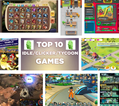 Are you really enjoying idle games with Android phones