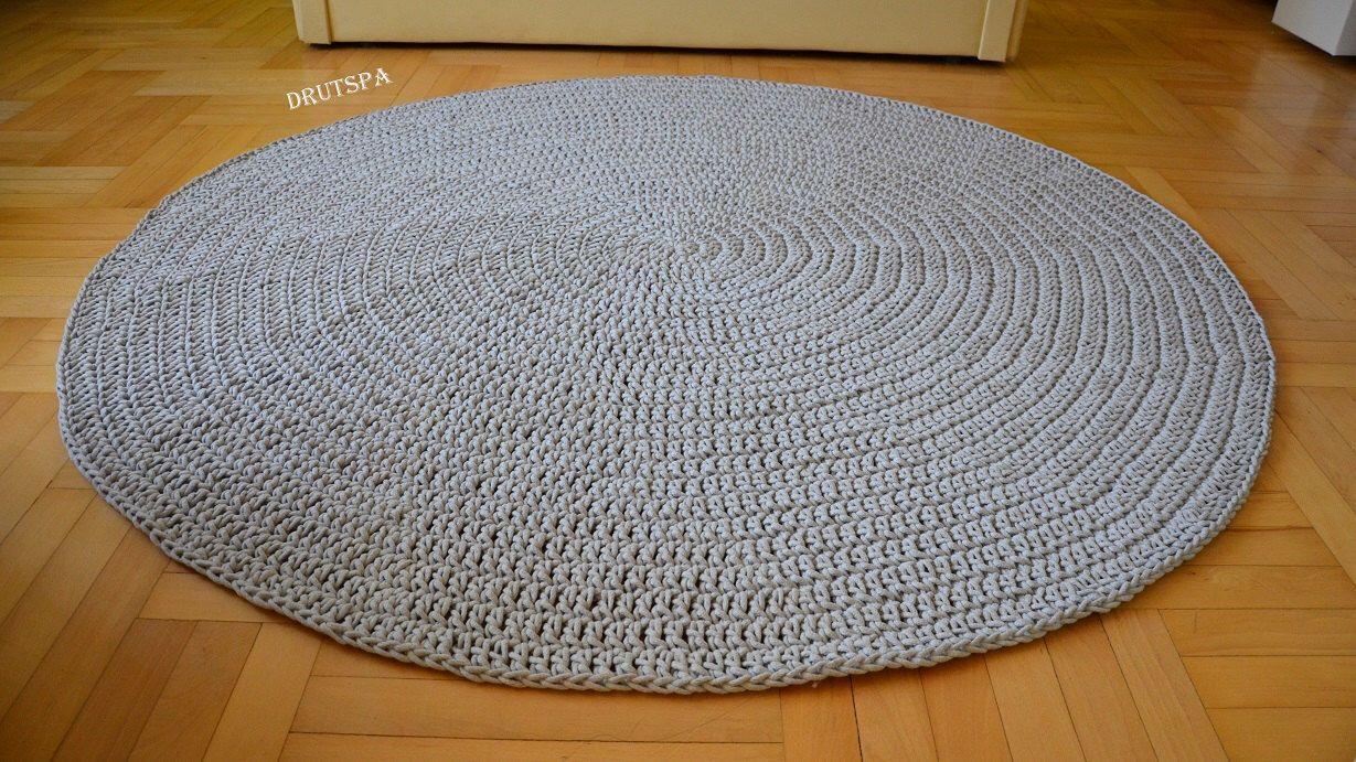 Einzigartig Skandinavische Teppiche Galerie Von Promotion Many Colors Rond Tapis Crochet Nursery