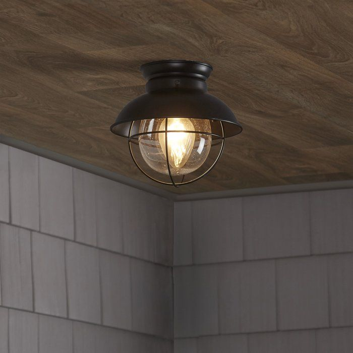 brookfield 1 light semi flush mount 5875 basement ceiling rh pinterest com
