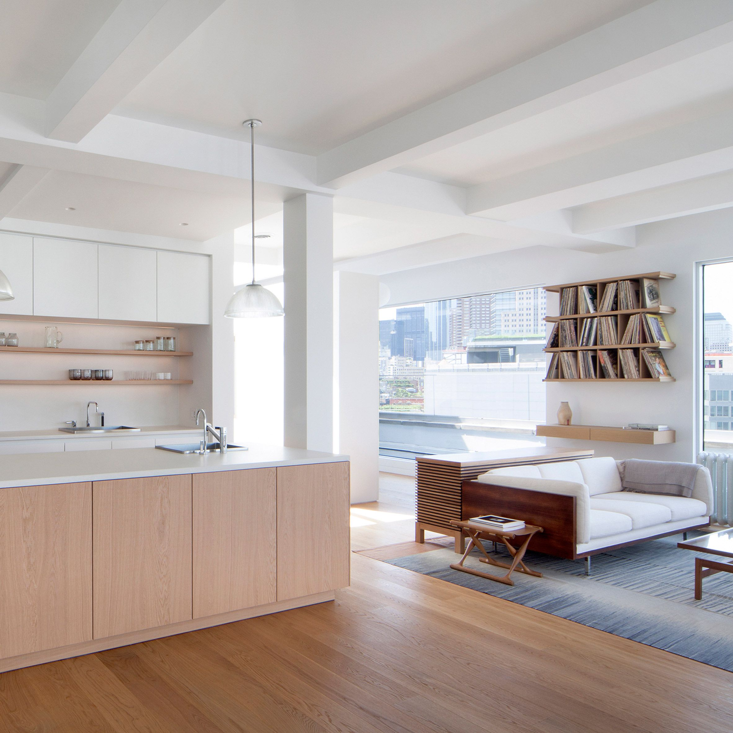 New York Studio Apartments: New York Studio Space4Architecture Has Used Only Three