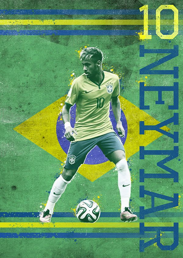 World Cup Posters by Robert Carissimo, via Behance