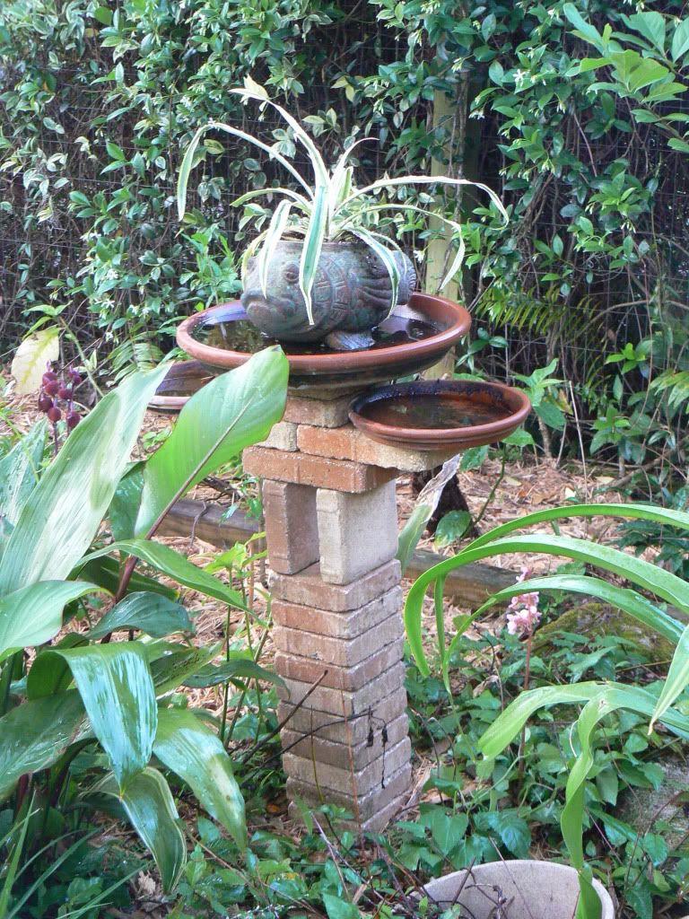Flea Market Gardening Pinterest Home Made Birthbaths Florida Forum Gardenweb