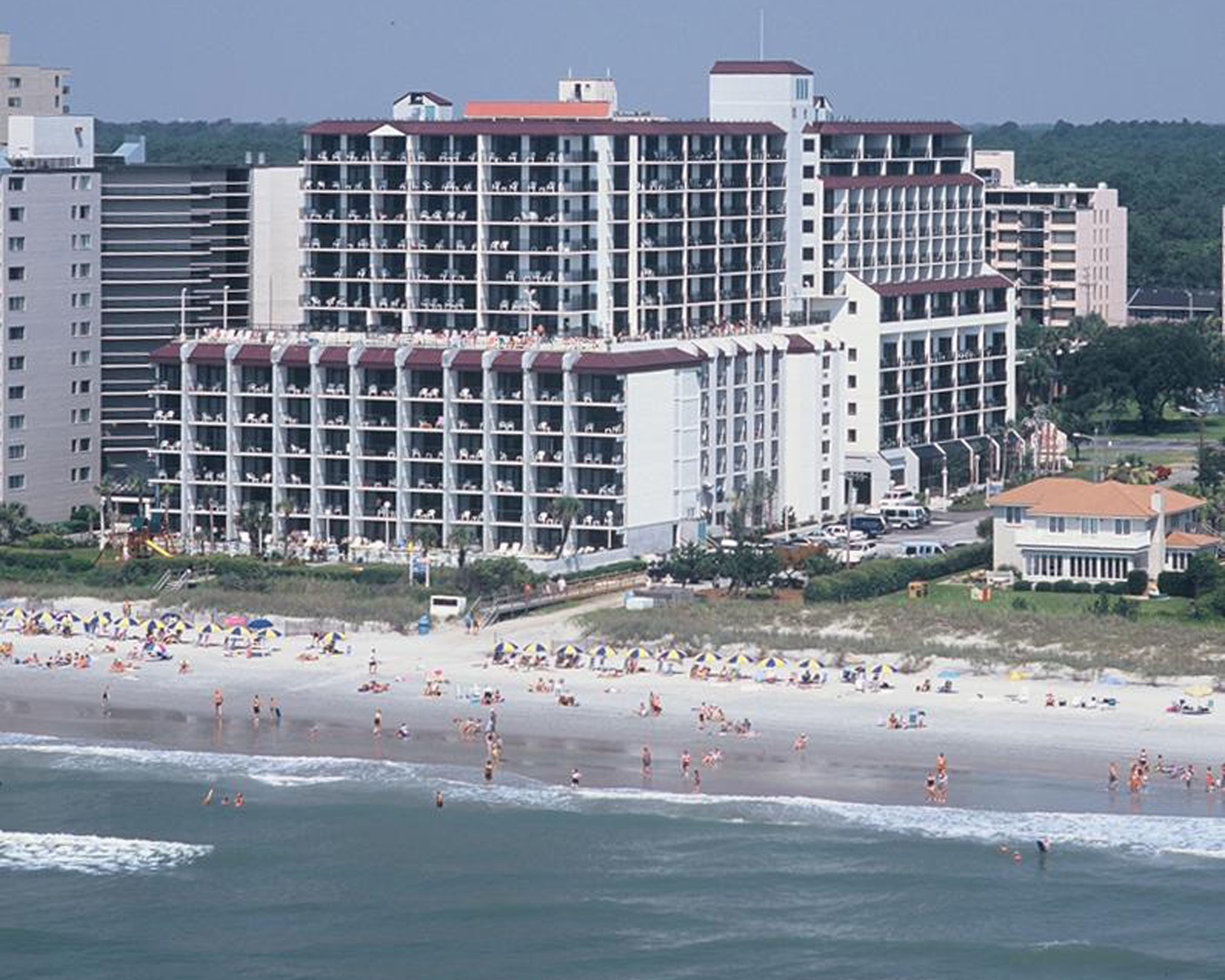 A Aerial View Of Grande Shores In Myrtle Beach South Carolina Myrtle Beach Hotels Ocean Resort Myrtle Beach