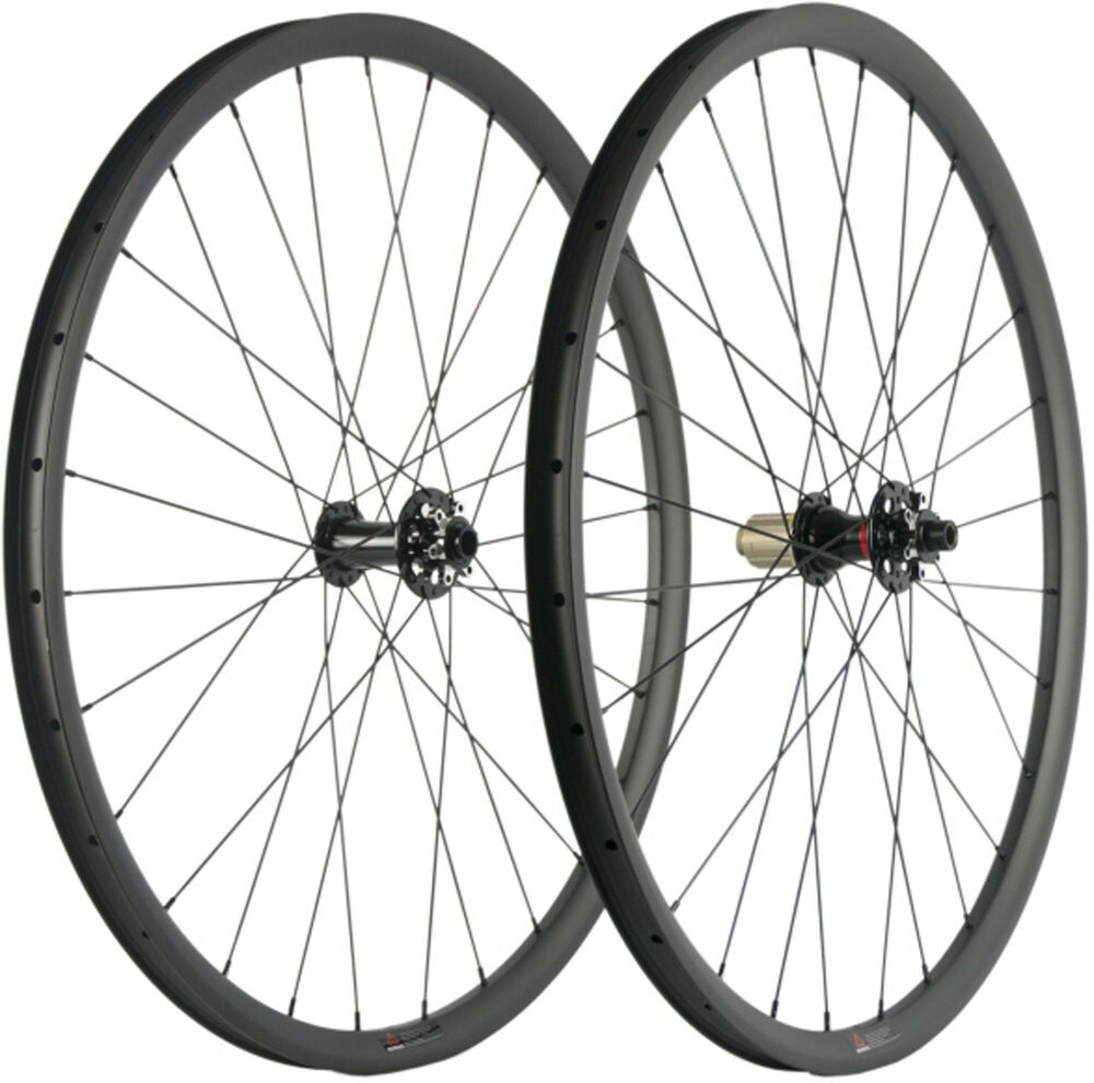 Details About 29er 27 30 35mm Width Mtb Wheels Full Carbon