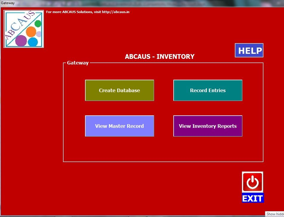 ABCAUS Excel Inventory Template and Tracker    abcausin - inventory template