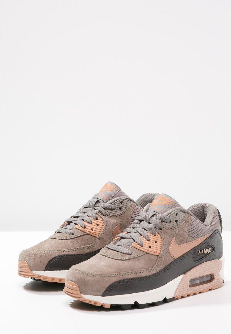 Chispa  chispear no pueden ver Al por menor  Nike Sportswear AIR MAX 90 - Sneaker - iron/metallic red bronze/dark  storm/slate - Zalando.de | Nike shoes women, Nike free shoes, Dress shoe bag