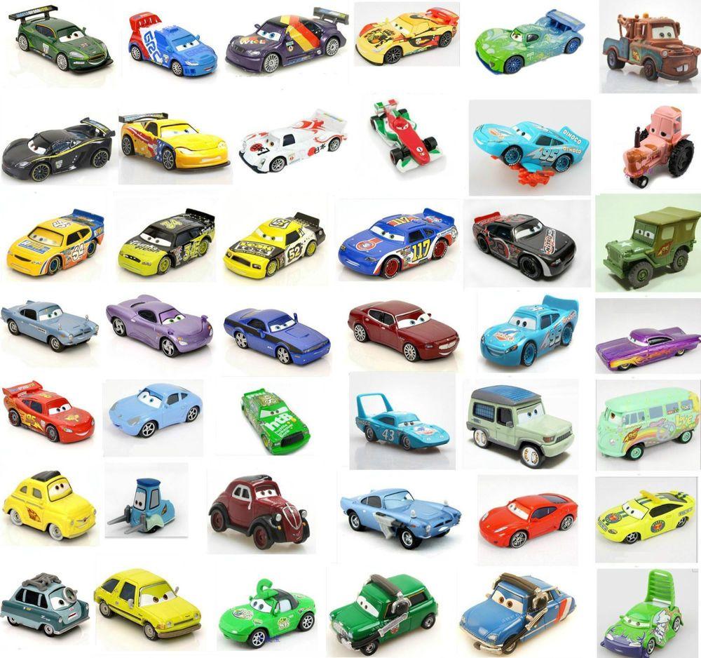 Original 1 55 Mattel Disney Pixar Diecast Cars1 Cars 2 Toy Many