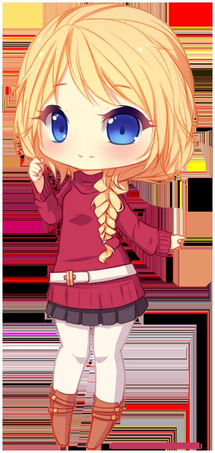 Commission erika sketch chibi 1 by hyanna natsu on deviantart sooo cute i - Dessins manga fille ...