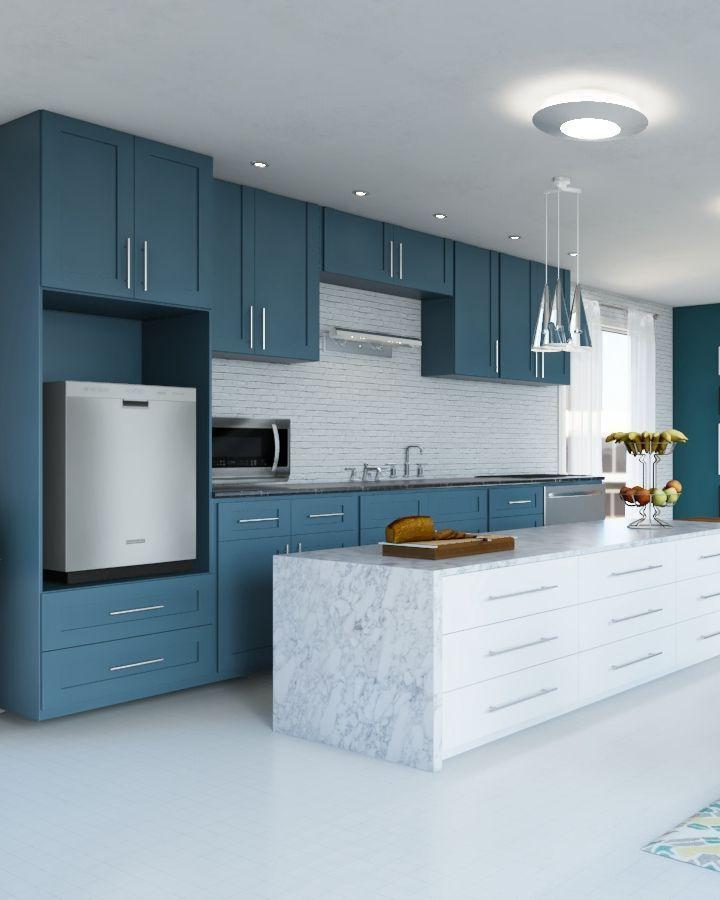 Design your dream kitchen on Homestyler kitchen
