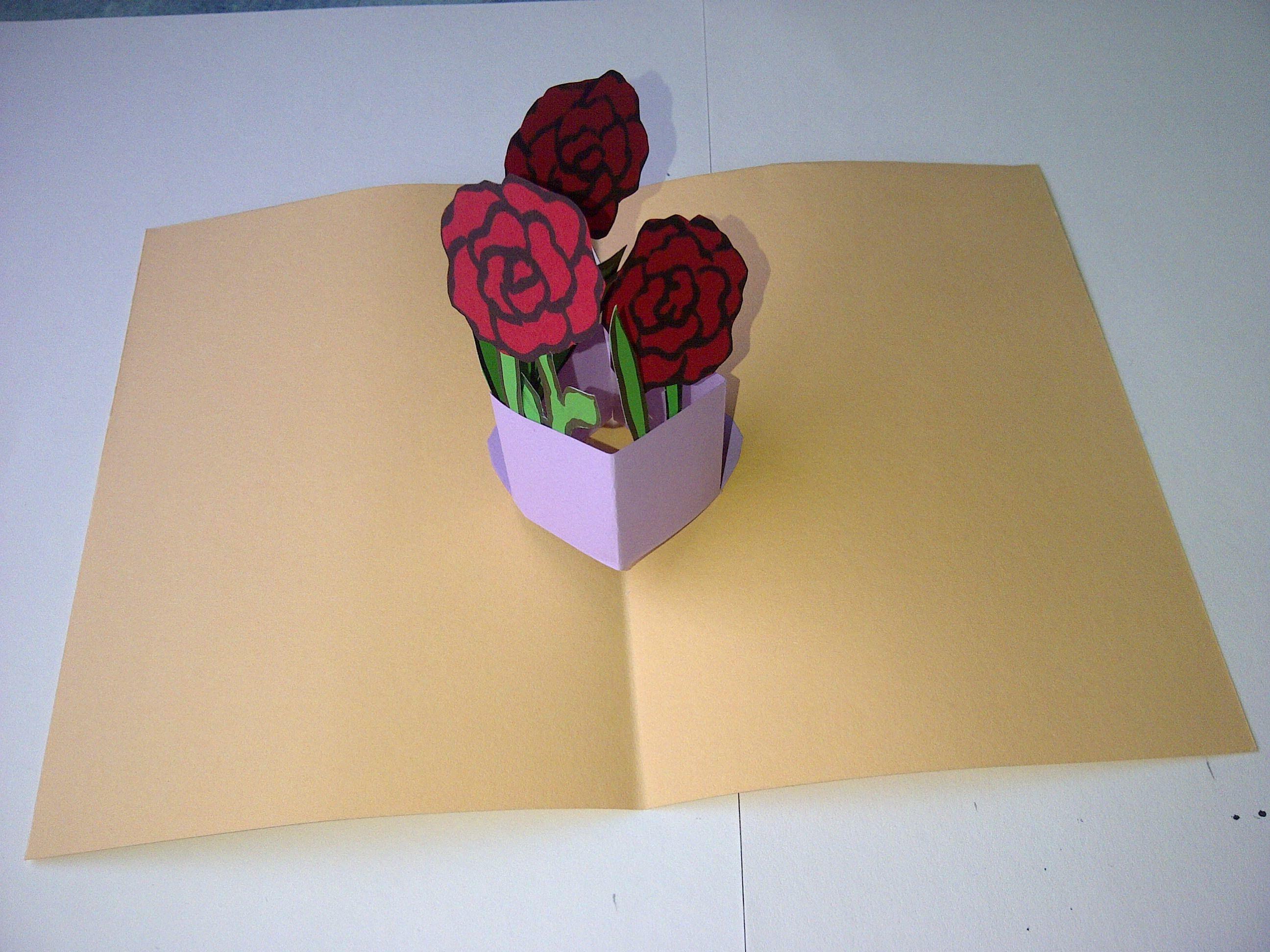 первую как сделать объемную открытку с 8 марта красивые снимки