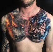 Tattoo by chrisshowstoppr Tattoo by chrisshowstoppr BackTattoosgeometric