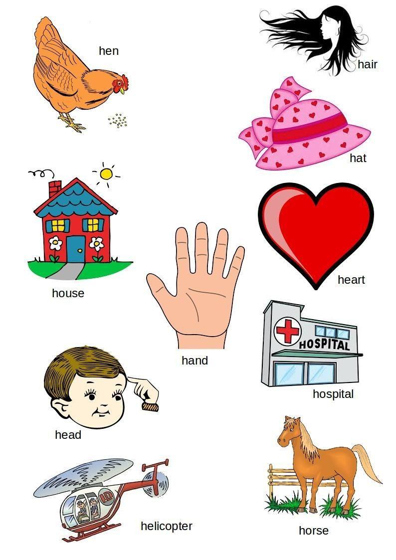 Pin By Bero Kenawy On Hh Picture Letters Beginning Sounds Worksheets Lettering Alphabet Letter h worksheets for kindergarten pdf