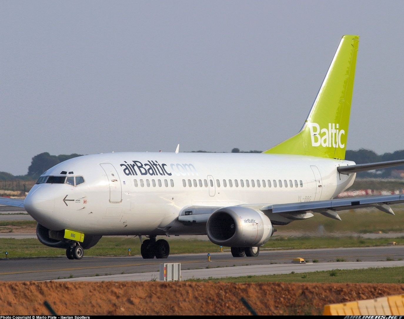 Boeing 737 548 Air Baltic Aviation Photo 0820537 Airliners