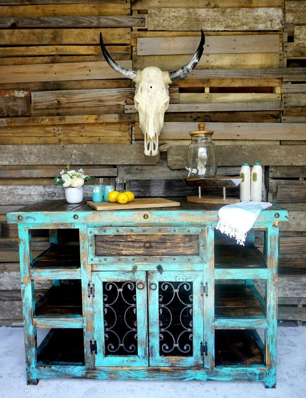 Indigo Rustic Island | Diseño muebles, Cerámica y Pinturas