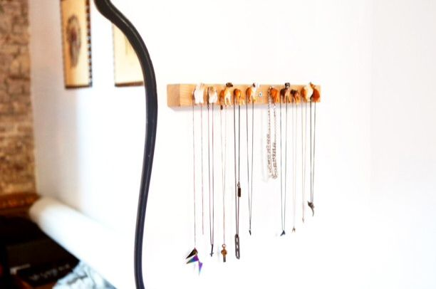 DIY jewellry holder