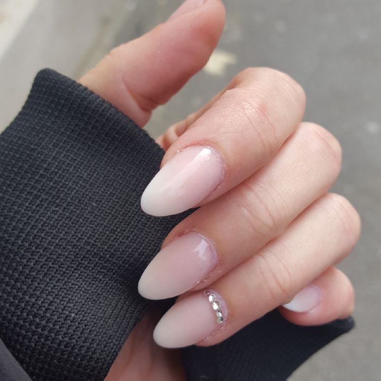 65 Nail Art Ideas That Work Great For Almond Shaped Nails Koees Blog Short Almond Nails Nail Shapes Almond Nails