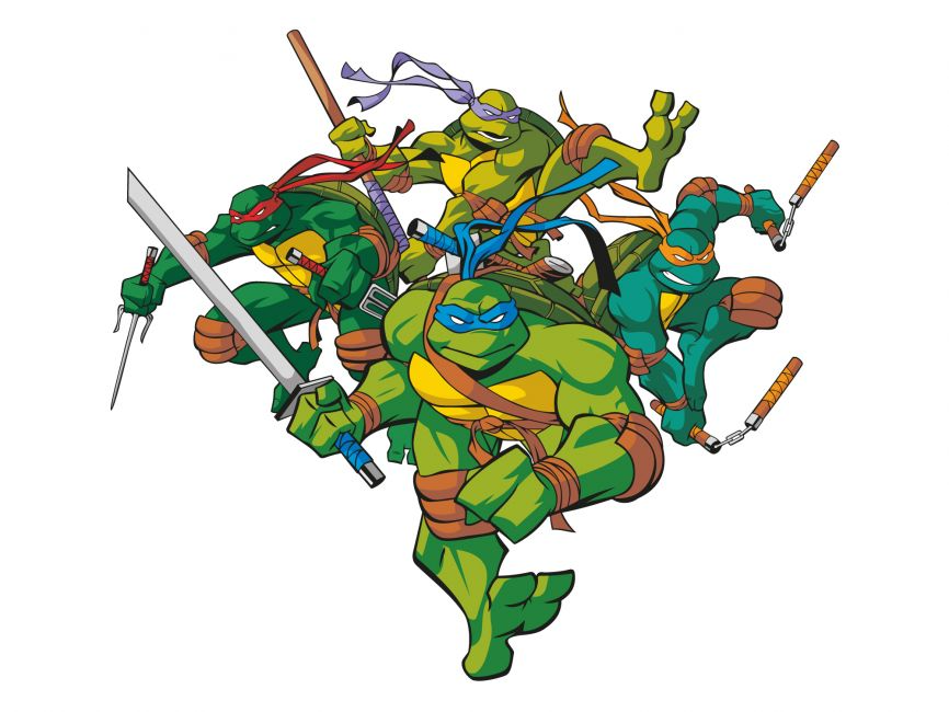 Teenage Mutant Ninja Turtles Vector File