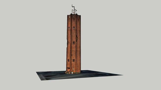 Goleniow - wieza cisnien - 3D Warehouse