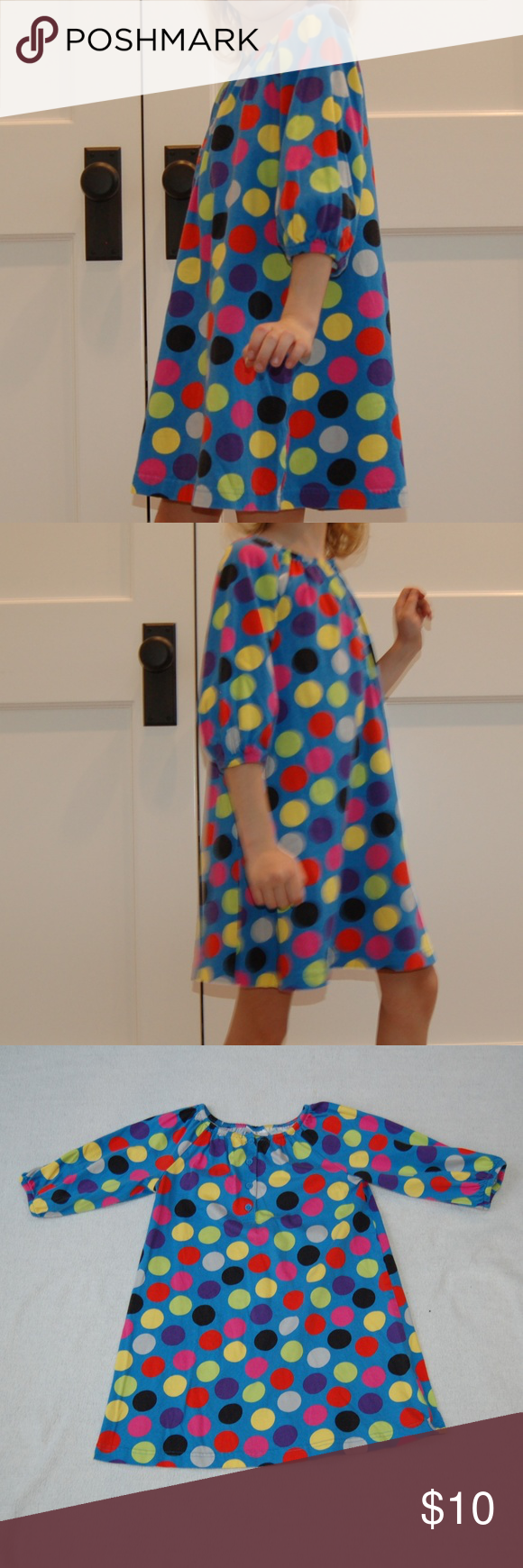 Hanna andersson longsleeved dress this sleeved dress can