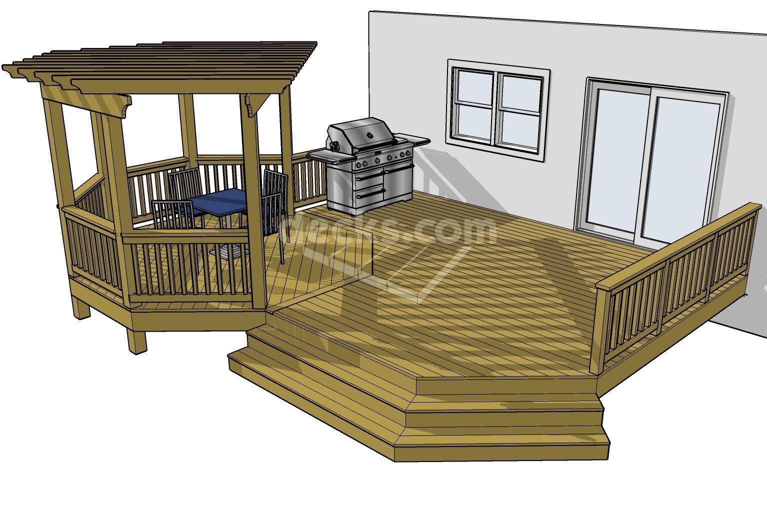 The Best Tips For Deck Designs To Create A Splendid Deck Decorifusta Free Deck Plans Diy Deck Deck Design