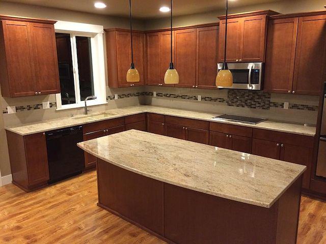 Astoria Granite Countertop Backsplash Ideas Kitchen Remodel