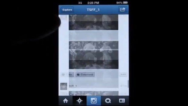 1er perlícula muda en instagram