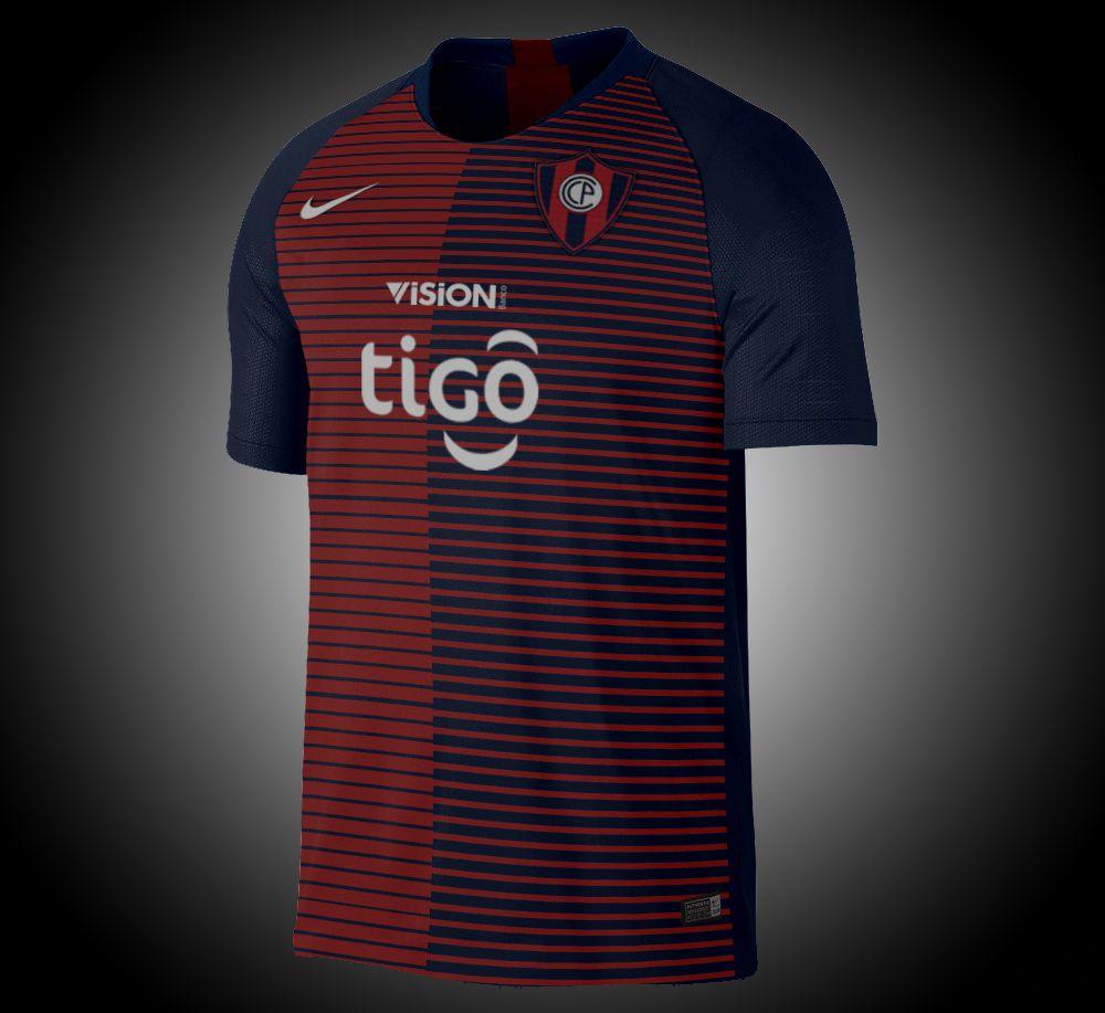 Club Cerro Porteño (Paraguay) - Home Nike Fútbol 3d8d18473c040
