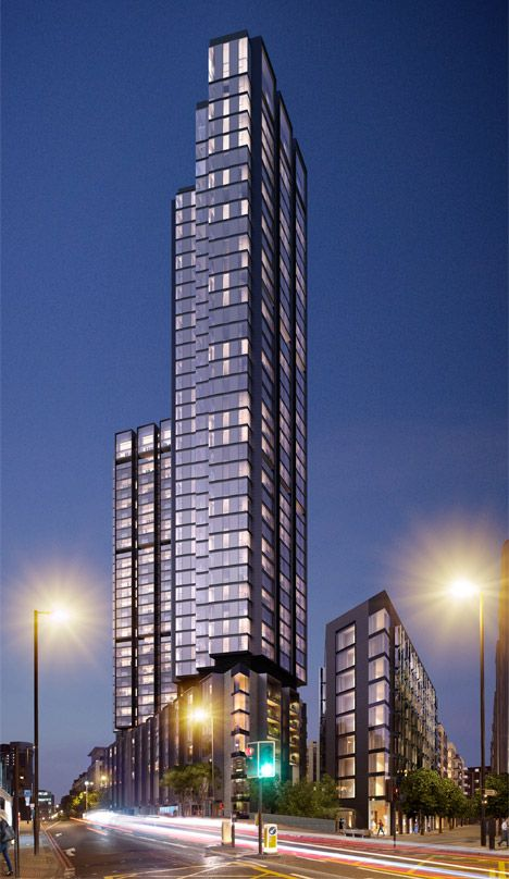 250 City Road By Foster Partners Hmm The Banded
