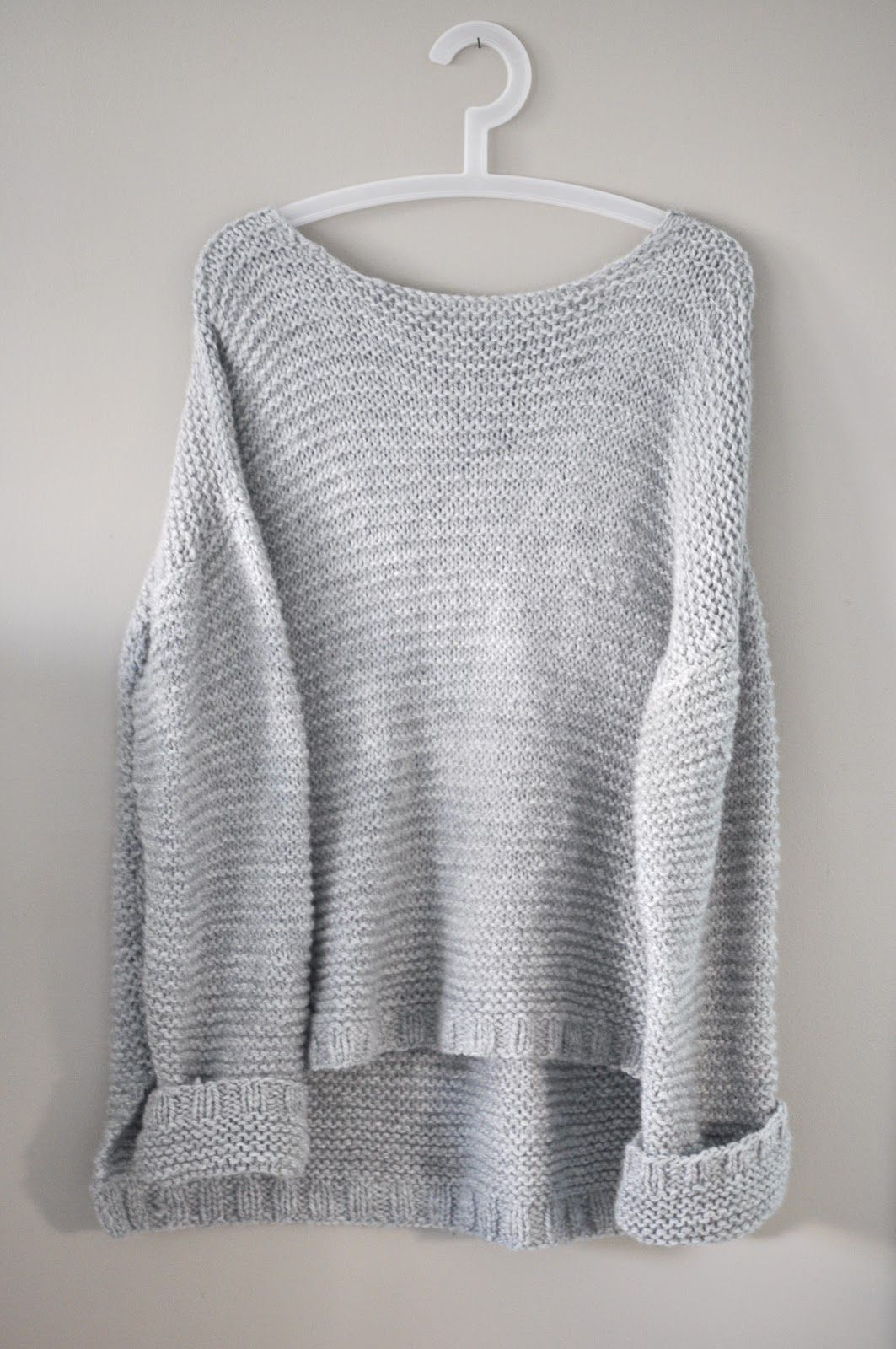 Oversized Sweater | hekel | Knitting, Knitting patterns, Sweater ...