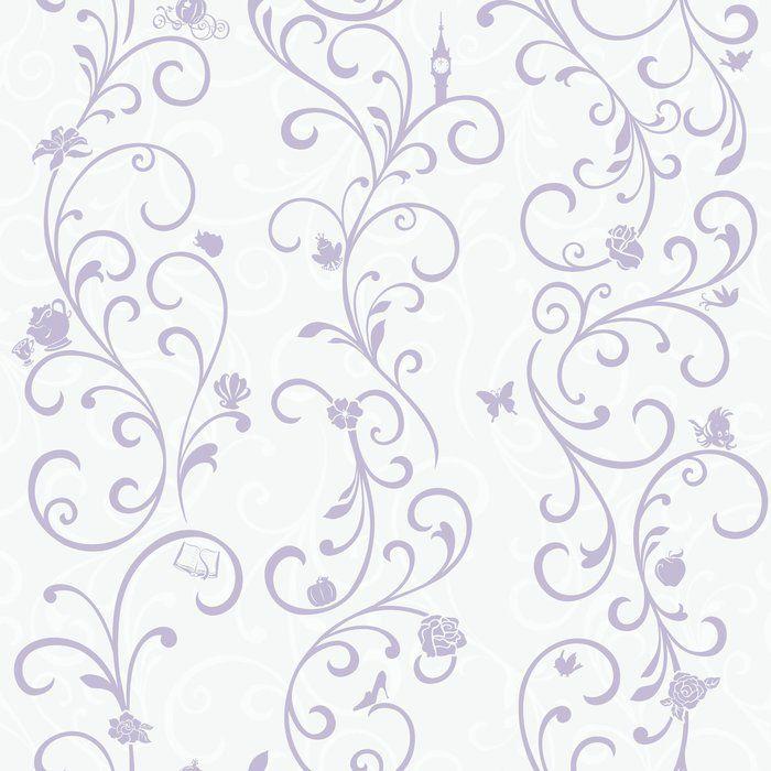Disney Kids Iii Princess Scroll Stripe 16 5 L X 20 5 Quot W