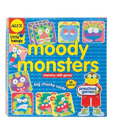 Take a look at this Moody Monsters Game by Friendly Monsters Collection on @zulily today!