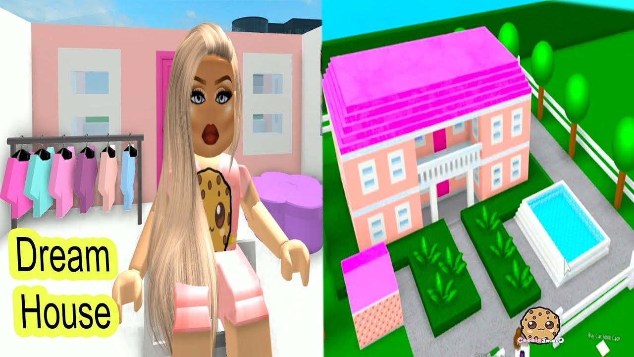 Building My Own Barbie Dream House Let S Play Roblox Game Video Youtube In 2020 Barbie Dream House Barbie Dream Barbie House