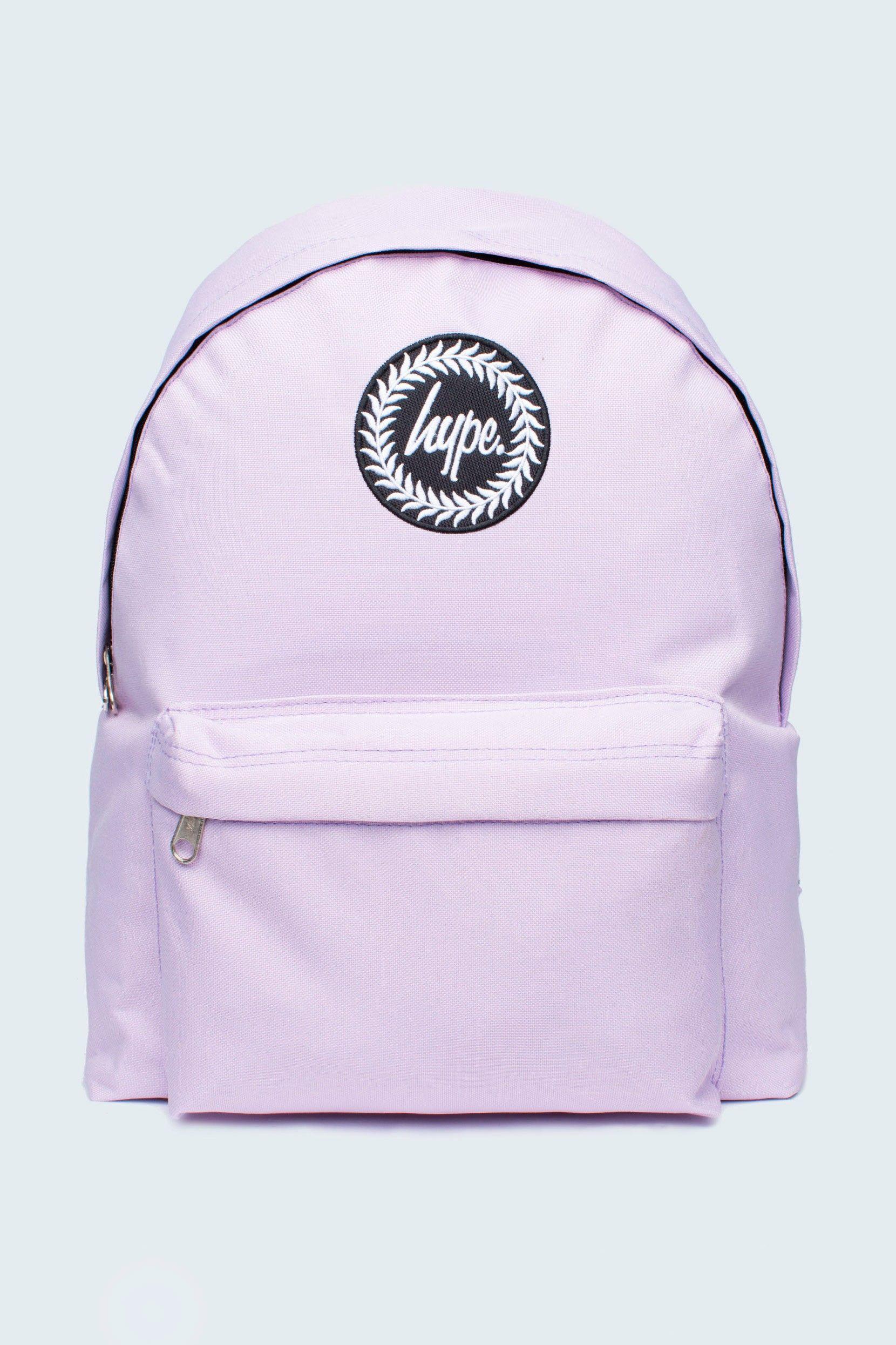hype pastel purple backpack hypeschool bags pinterest