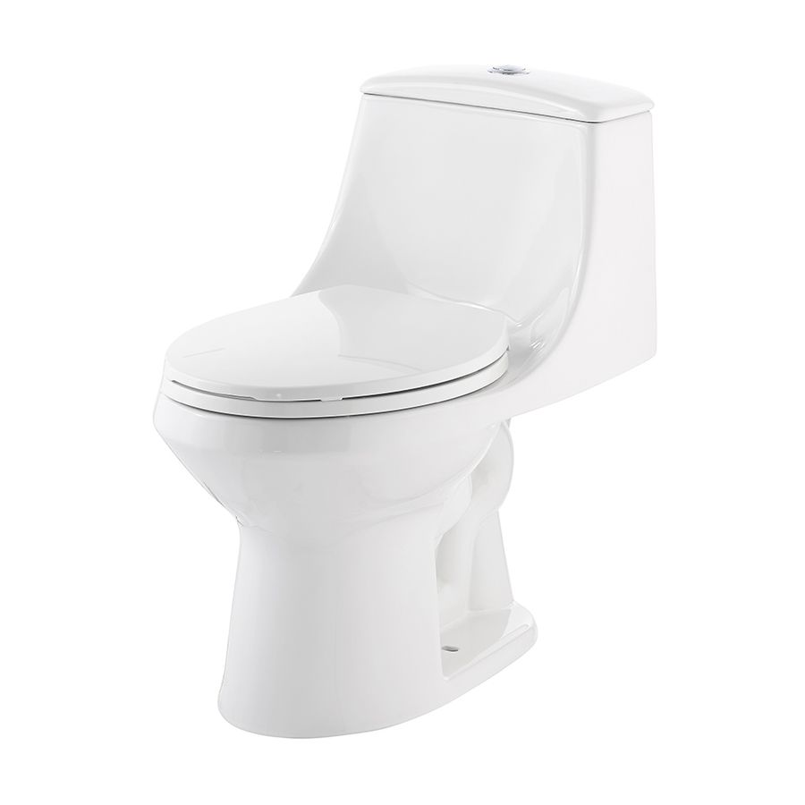 Jacuzzi Primo 1 6 Gpf 6 06 Lpf White Dual Flush Elongated Chair Height 1 Piece Toilet Water Sense Chair Height Dual Flush Toilet