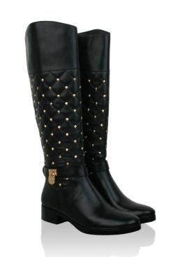 8d7e84707a2 Laarzen Quilted | zwart - www.littlesoho.com Mk Boots, Online Fashion  Boutique