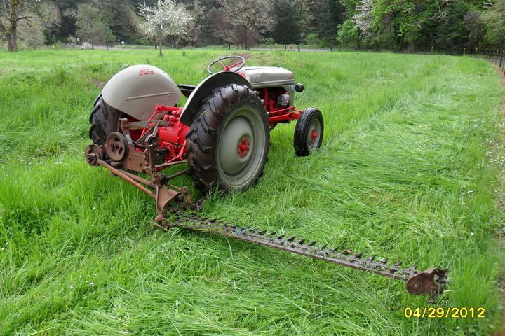 Dearborn 14 15 Sickle Mower 8n Ford Tractor Vintage Tractors Tractors