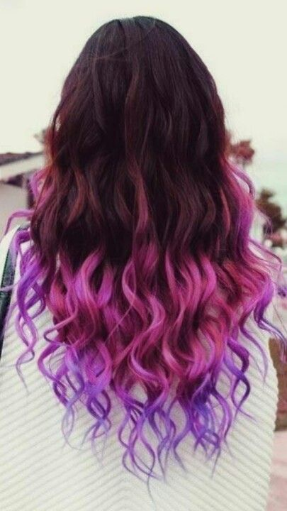 I love this! I don't have the guts to do it but I sure wish someone I know actually would.. Those extensions look killer and the color is so vibrant