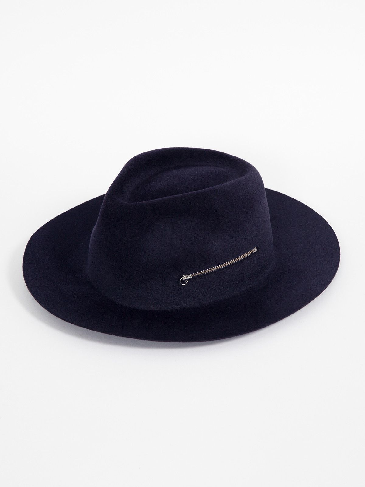 34bfd3e503b487 FEDORA ZIP NAVY | LAROSE PARIS | GENTRY NYC Fadora Hats, Fancy Hats, Cool