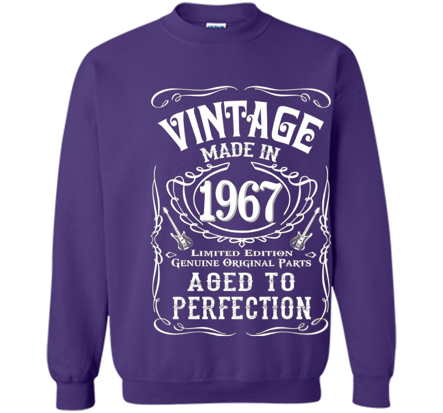 Vintage Made In 1967 Birthday Gift Idea T Shirt