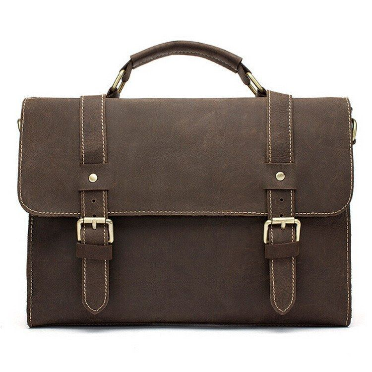 Charles Town Leather Briefcase  256.00 Free shipping worldwide ... 547df8fad29b9