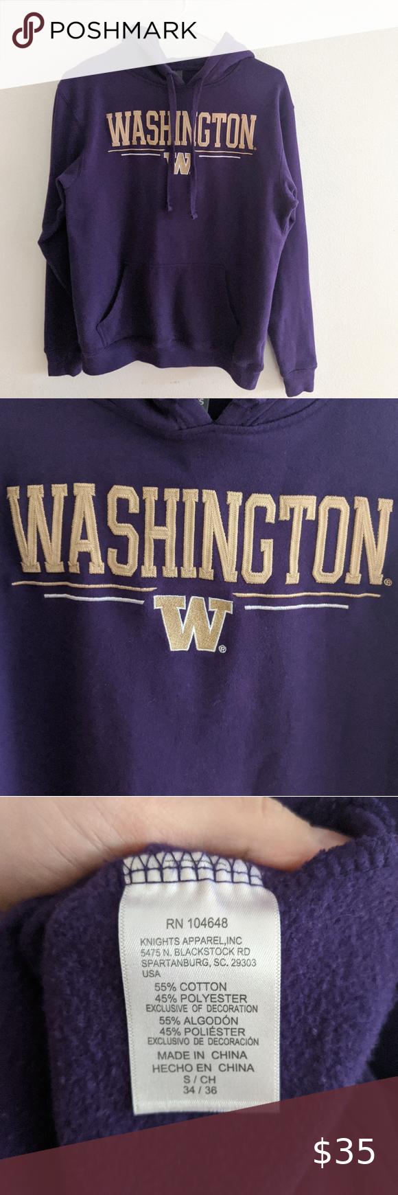 University Of Washington Huskies Hoodie Sweatshirt Sweatshirts Hoodie Hoodies Sweatshirts [ 1740 x 580 Pixel ]