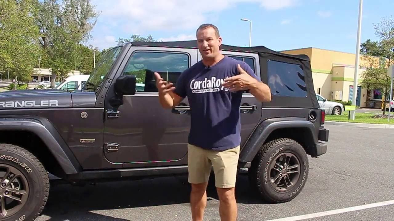 Soft Top Removal Jeep Wrangler Unlimited 2016 Youtube Jeep Wrangler Unlimited Jeep Wrangler Jeep