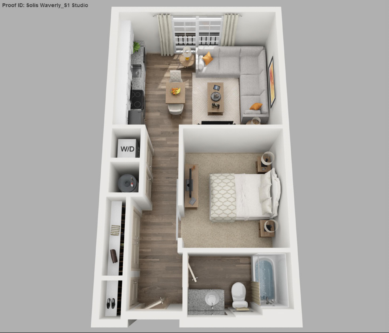 Solis Apartments Floorplans Studio Apartment Floor Plans Small Apartment Floor Plans Apartment Plans